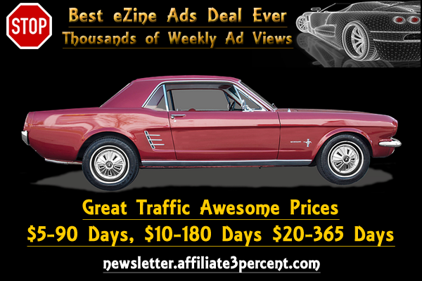 Buy Ezine ads in our Newsletter.
