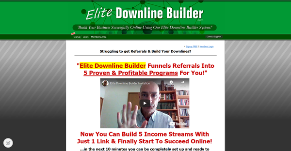 Elite Downline Builder Screenshot 1